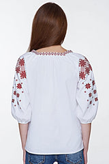 Embroidered blouse (760)