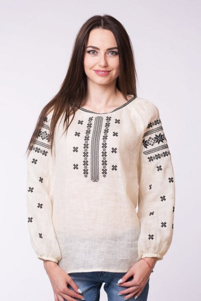 Embroidered blouse (7403)
