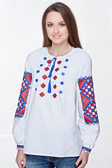 Embroidered blouse (764)