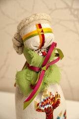 "Tied ""Motanka"" doll"
