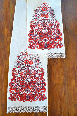 Flower Tree Table runner (Рушник)