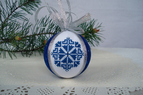 Tree ornament Snowflake