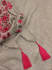 Embroidered dress Enchanted Winter