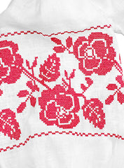 Embroidered dress A Flash of Roses