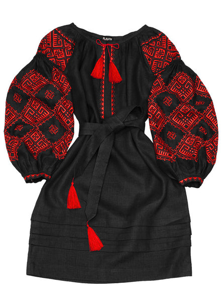 Embroidered dress Earthly Love