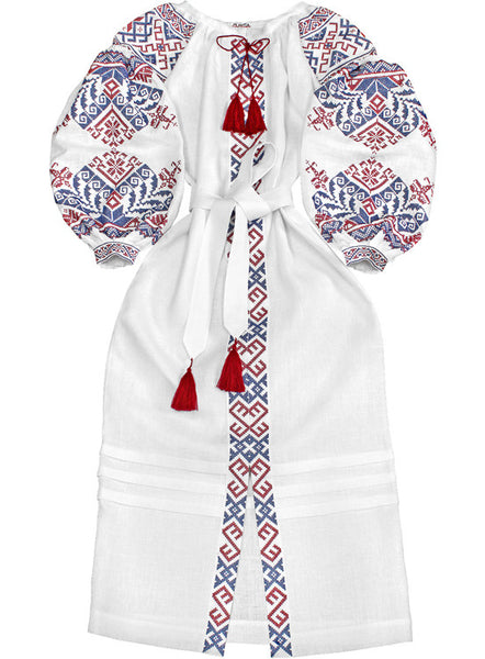 Embroidered dress Traditionally Charming