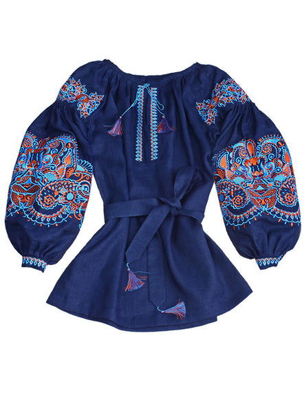 Embroidered blouse Eastern Fairytale
