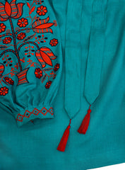 Embroidered blouse Tree of Life