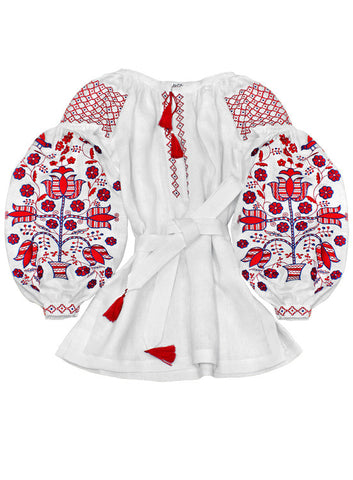 Embroidered blouse Tree of Life (W)