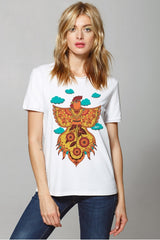 "T-Shirt ""Fiery Rooster"""