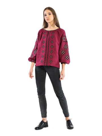 Embroidered blouse ES21