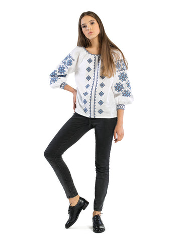 Embroidered blouse ES22