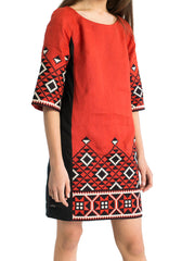 Embroidered dress EN 2