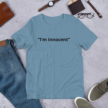"Load image into Gallery viewer, ""I'm Innocent"" Shirt"