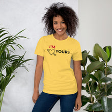 "Load image into Gallery viewer, ""I'm Yours"" Valentine's Day T"