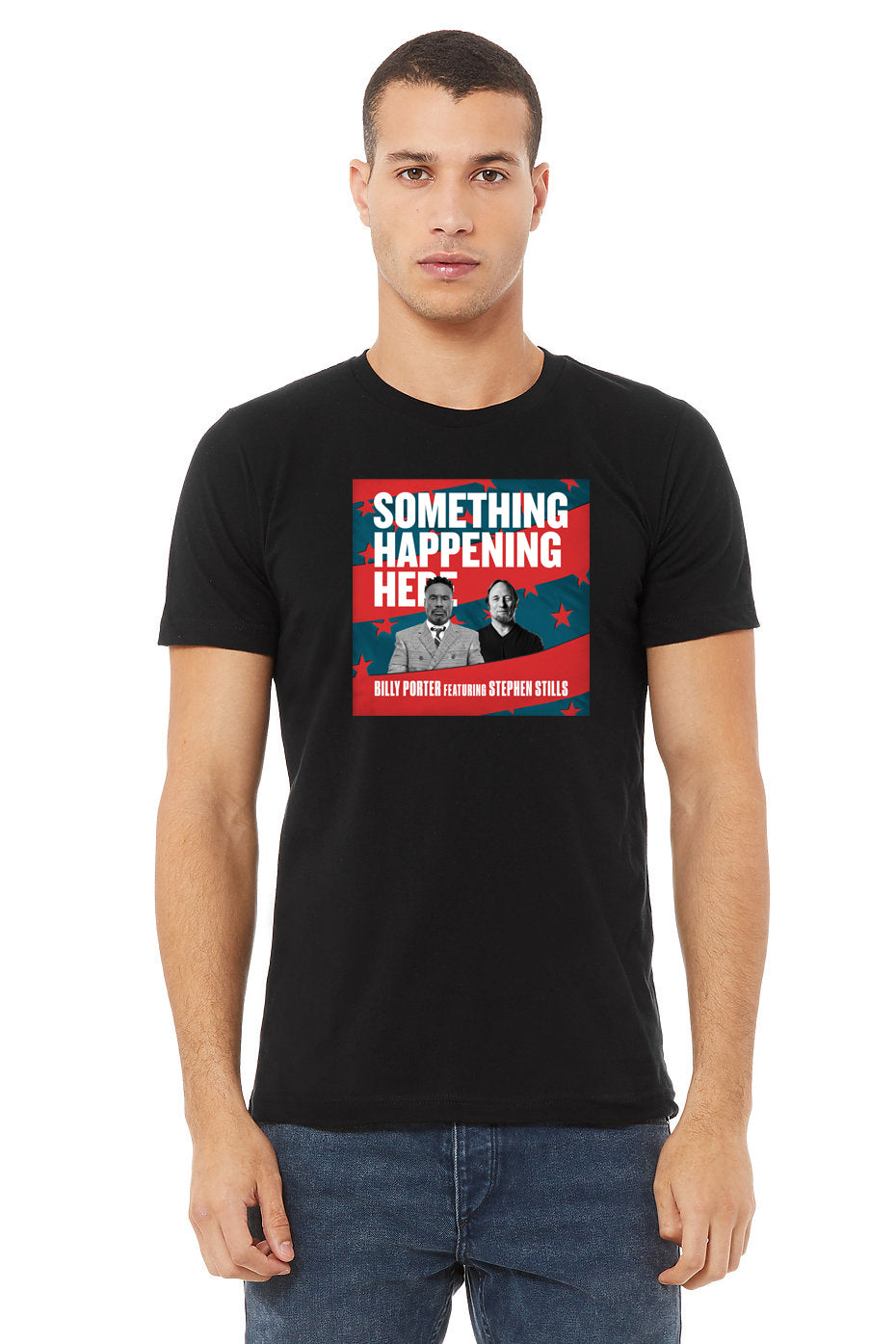 The Billy Porter Collection - Something Happening Single Art T-Shirt