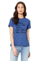 Stop...What's That Sound Handwritten T-Shirt - ON SALE NOW!