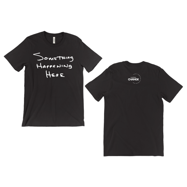 Something Happening Handwritten T-Shirt - ON SALE NOW!