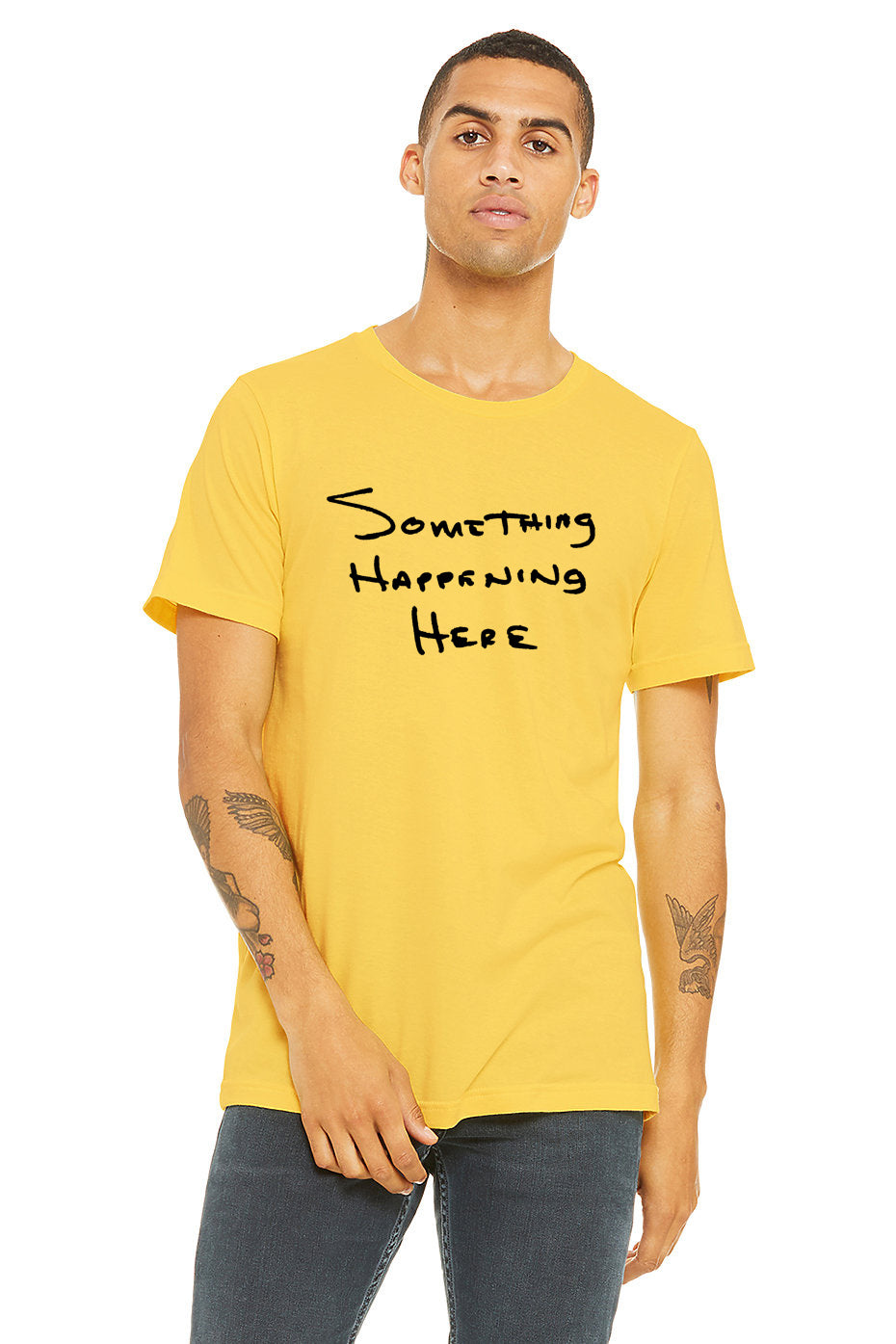 Something Happening Handwritten T-Shirt