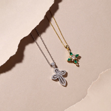Necklaces with diamonds in UAE | Dubai Jewelry shops online
