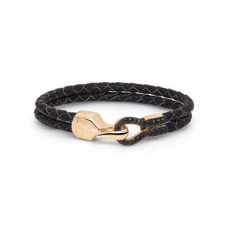 H.Aitch - Black Diamond Hook Bracelet