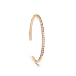 Diamond Tennis Cuff Bracelet