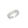 Pave Baguettes Diamond Ring