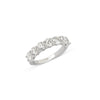 0.35 Ctw Half Diamond Ring Band