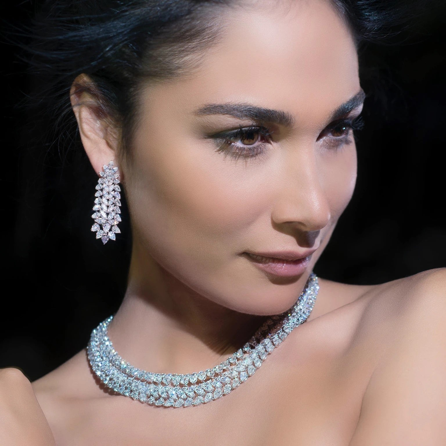 Bridal jewelery set in Dubai | Online Jewelry Store UAE