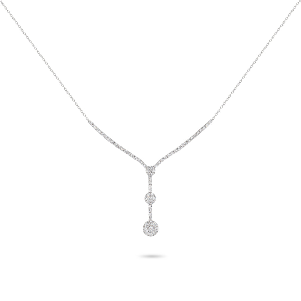 Illusion Diamond Necklace