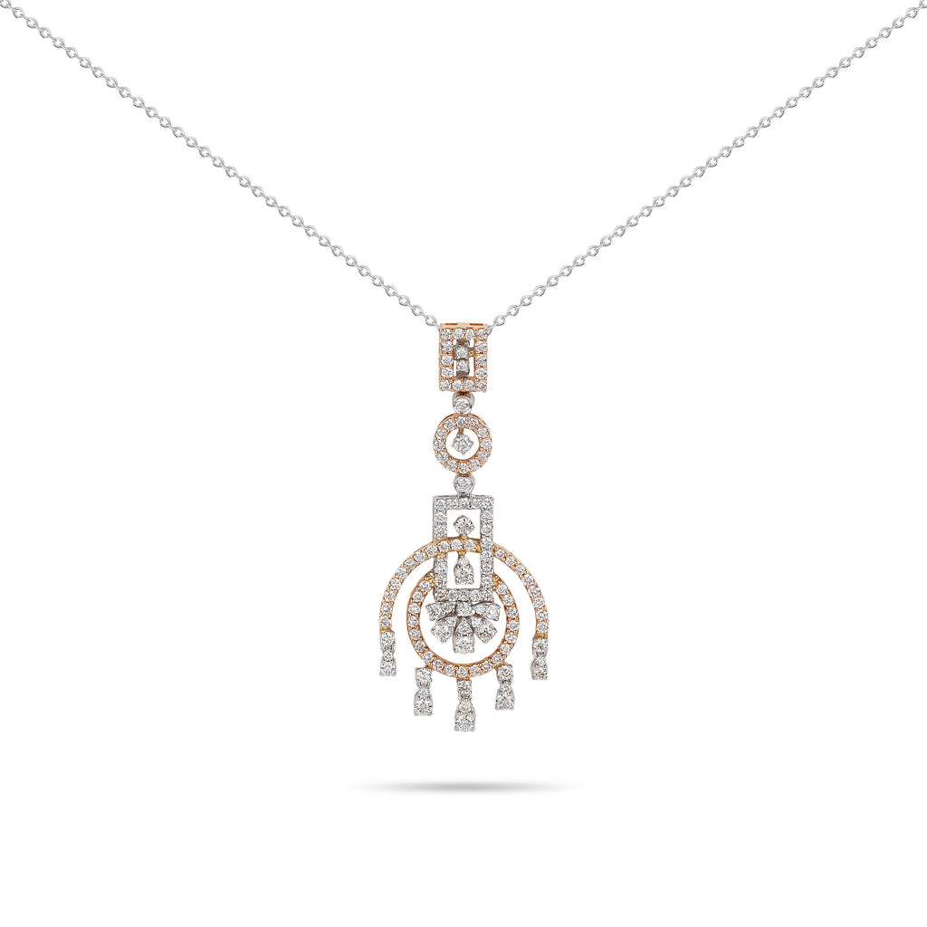 Palmier Diamond Necklace