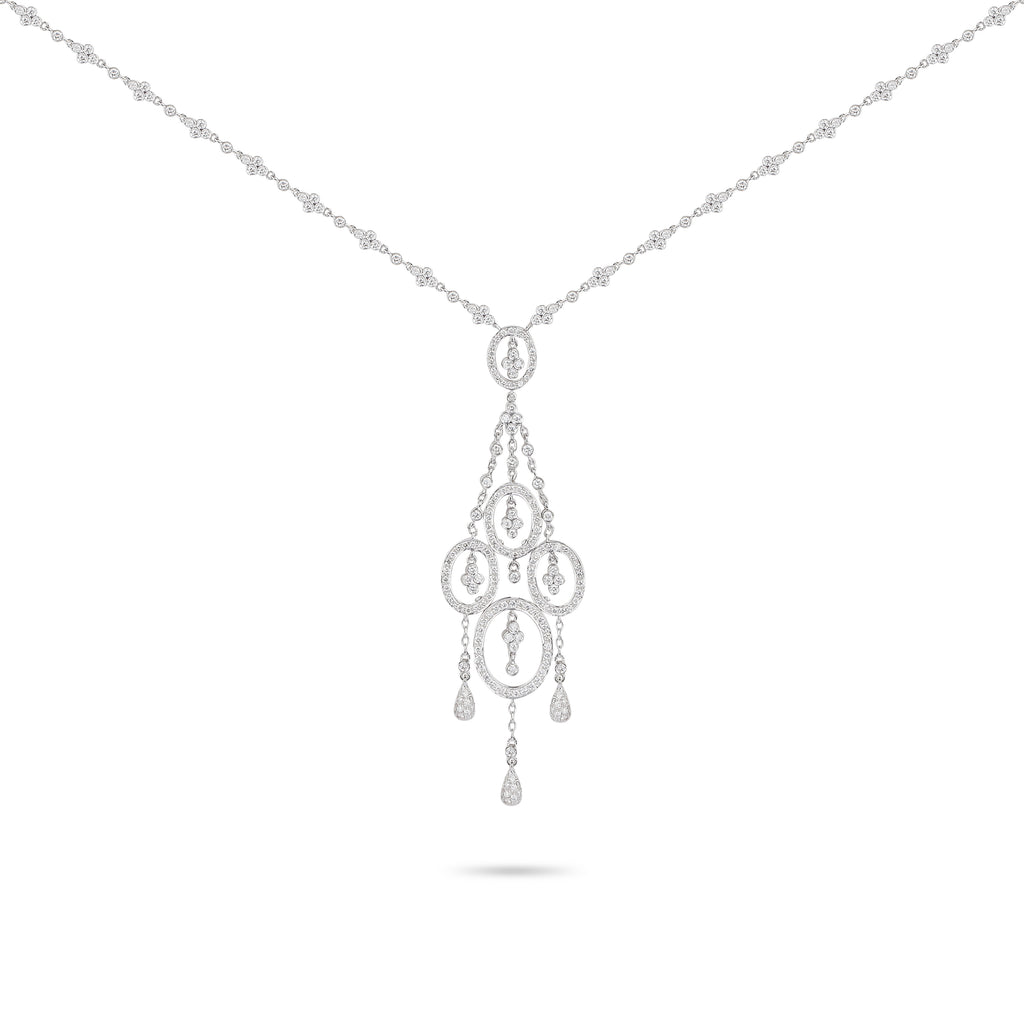 Chandelier Diamond Necklace