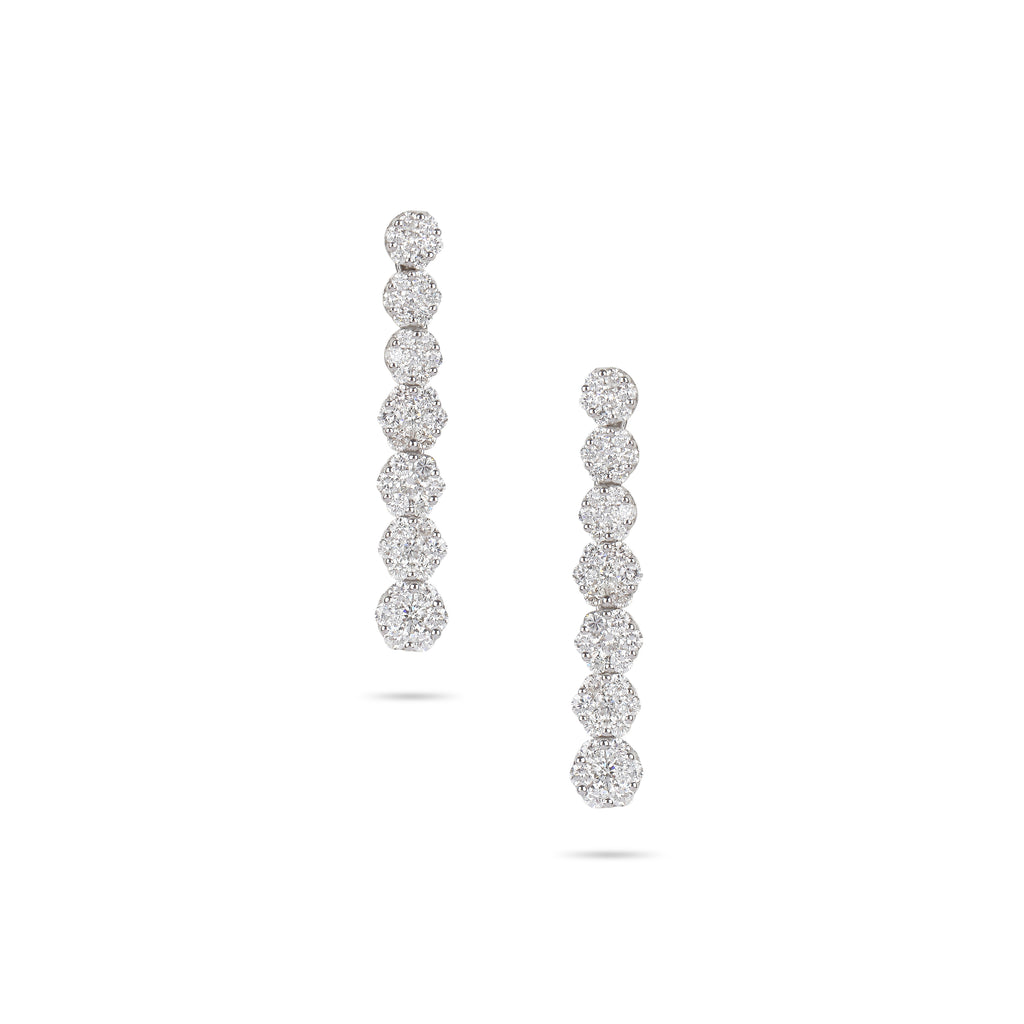 Illusion Diamonds Drop Earrings