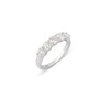 0.25 Ctw Half Diamond Ring Band