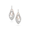 Diamond Loop Earrings
