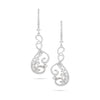 Spiral Diamonds Earrings