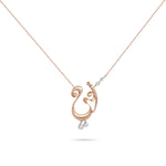 Necklaces with diamonds in UAE | Diamond necklace in Saudi Arabia