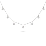 Diamond Illusion Charm Necklace