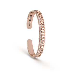 Cuban Chain Diamond Cuff
