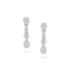 Illusion Drop Diamond Earrings