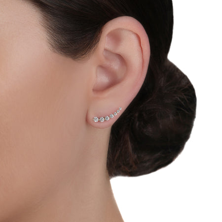 Crawler Diamond Earrings