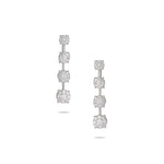 Illusion Drop Diamond Earring