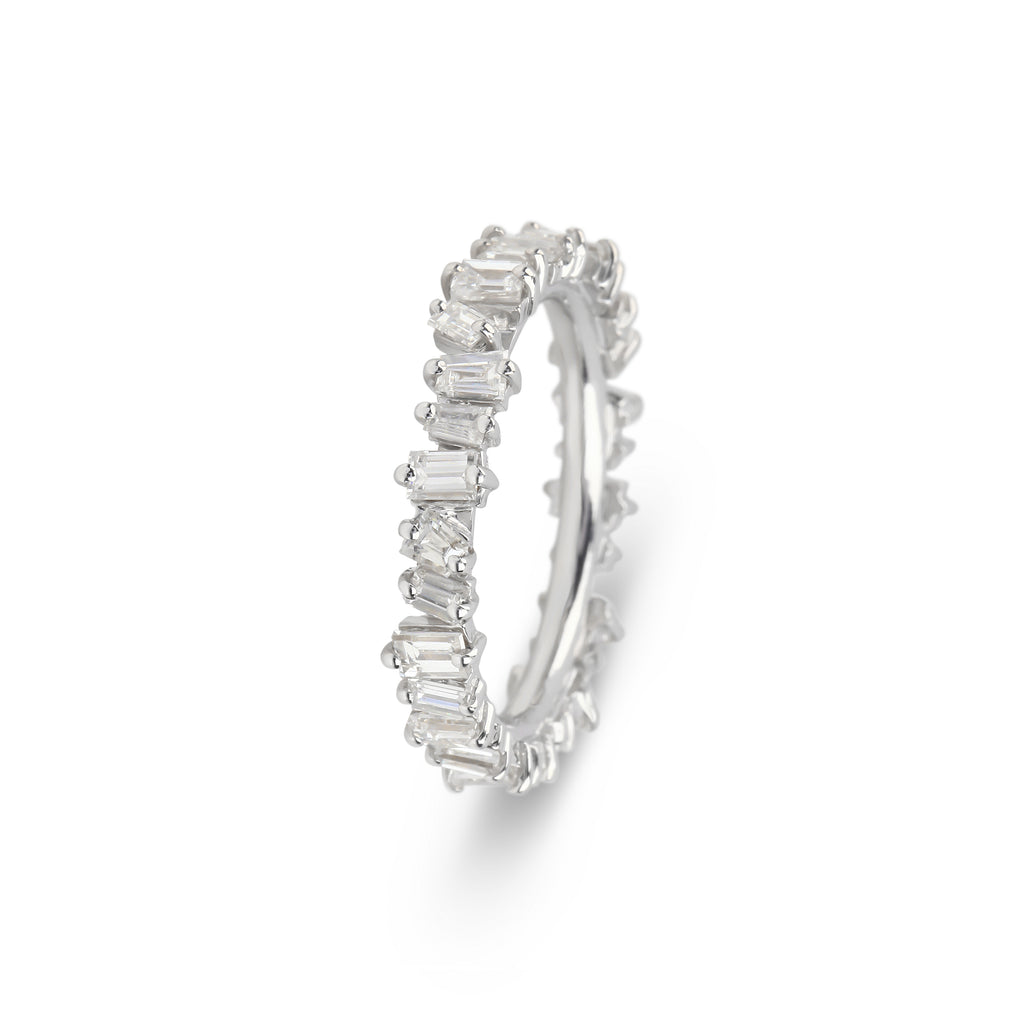 Baguette Diamonds Ring Band