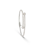 Twist Diamond Tennis Bracelet