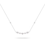 Multi-Cut Diamond Necklace