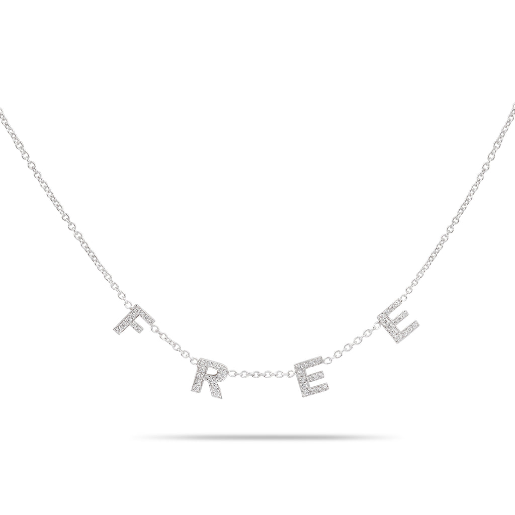 Free Diamonds Necklace