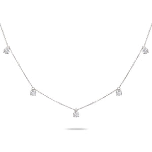 Choker Style Diamond Necklace