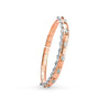 Okre by Yessayan - Rose & White Gold Marquise Diamond Cuff Bracelet