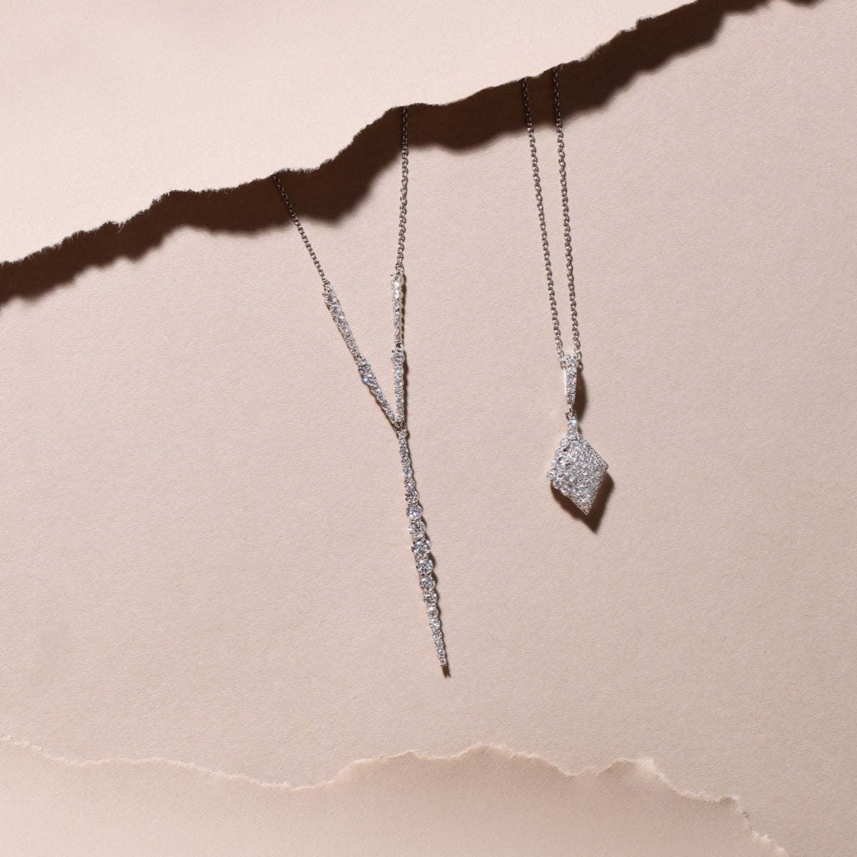 Diamond Pave Necklace