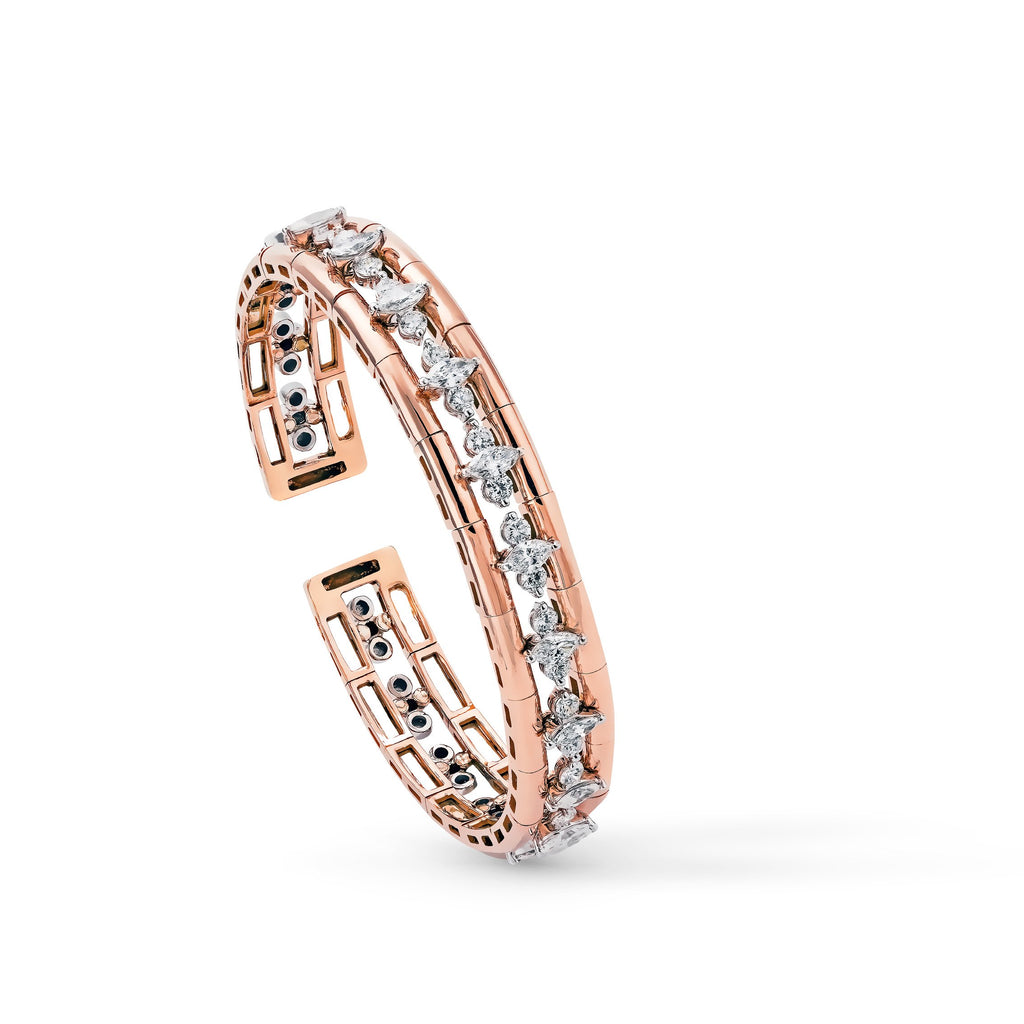 Okre by Yessayan - Rose Gold & Diamonds Bracelet